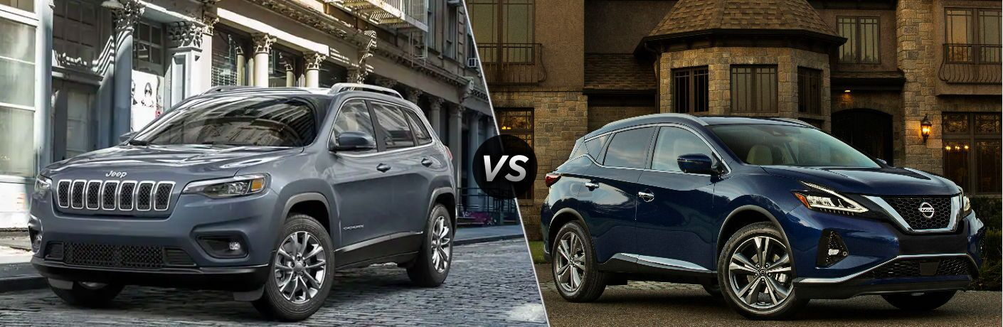 2019 Jeep Cherokee vs 2019 Nissan Murano
