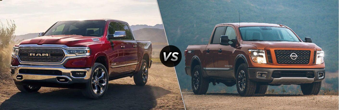 2019 Ram 1500 vs 2019 Nissan Titan