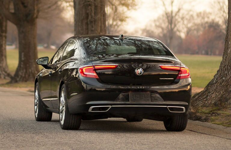 2019 Buick LaCrosse parked by a park