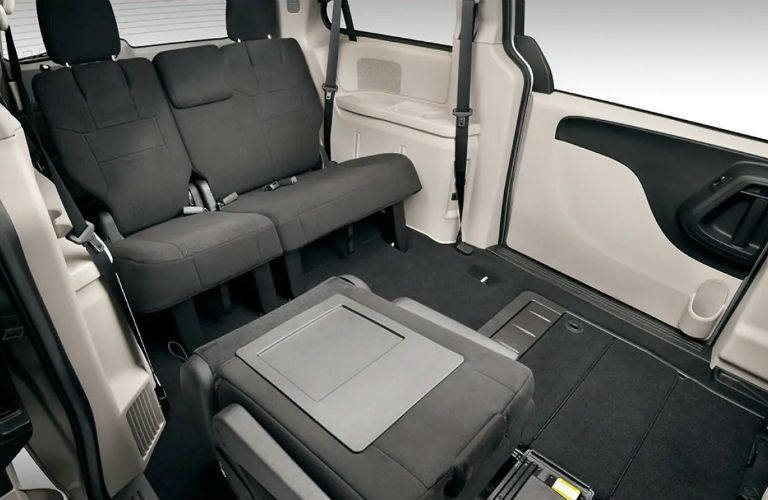 2019 Dodge Grand Caravan with flexible second-row seating