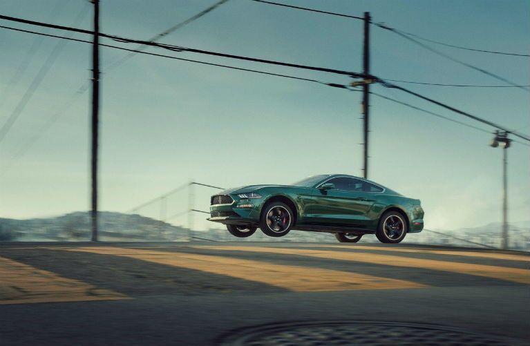 2019 Ford Mustang BULLITT going airborn