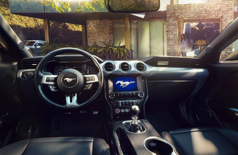 2019 Ford Mustang front interior