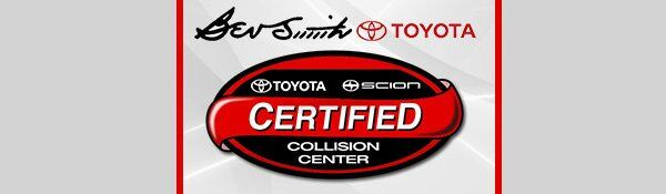 Certified Collision Center at Bev Smith Toyota