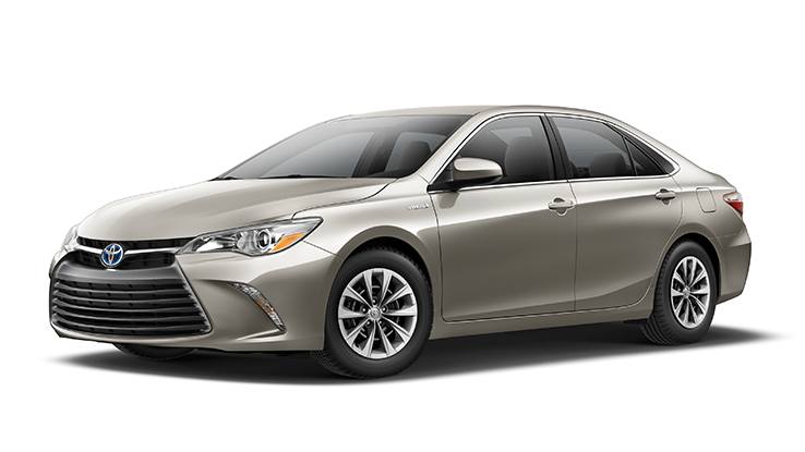 New Toyota Camry Hybrid at Bev Smith Toyota