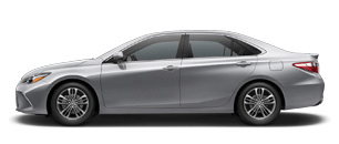 Toyota Camry for Rent at Bev Smith Toyota