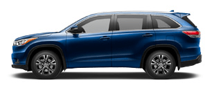 Toyota Highlander for Rent at Bev Smith Toyota