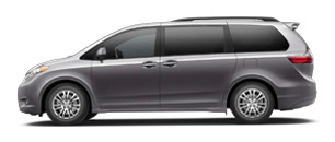 Toyota Sienna for Rent at Bev Smith Toyota
