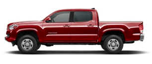 Toyota Tacoma for Rent at Bev Smith Toyota
