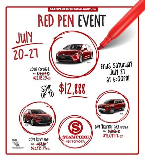 RED PEN Event