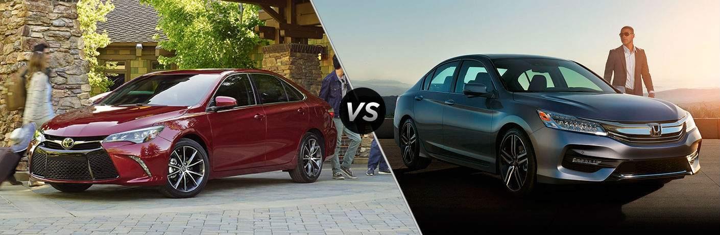 2017 Toyota Camry vs 2017 Honda Accord