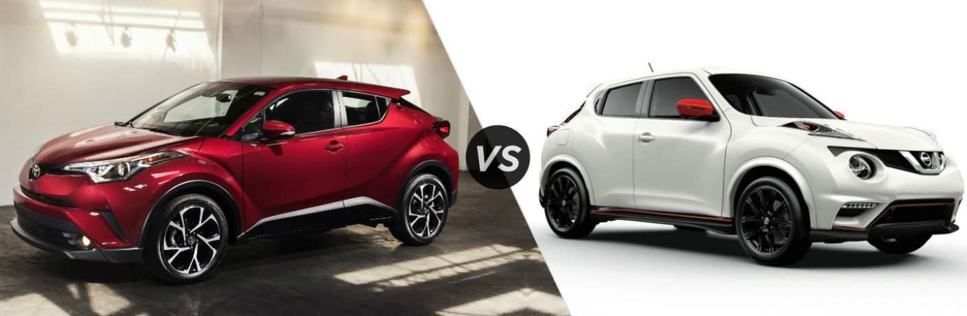 2018 Toyota C HR vs 2017 Nissan Juke Hialeah Fl