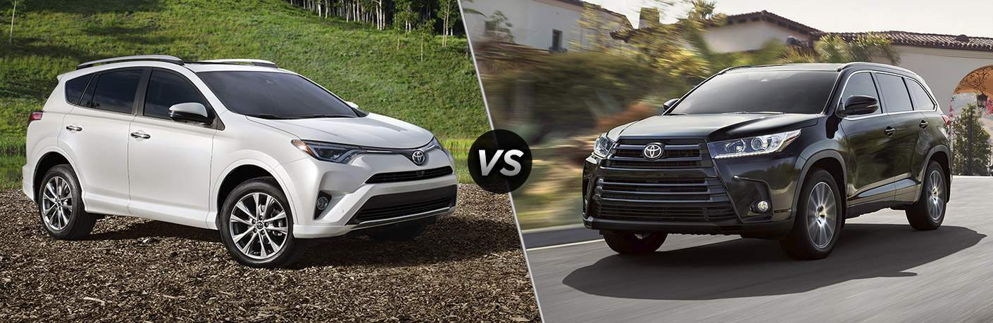 Rav4 Vs Highlander >> 2018 Toyota Rav4 Vs 2018 Toyota Highlander Hialeah Fl Near Miami