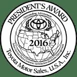 Logo of the Toyota President's Award
