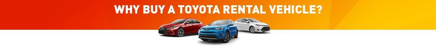 Why Buy a Toyota Rent-a-Car?