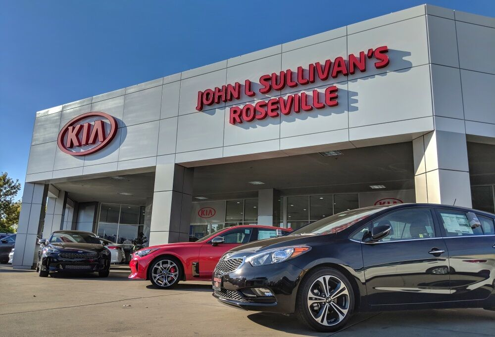 John L. Sullivan's Roseville Kia New Dealership Location