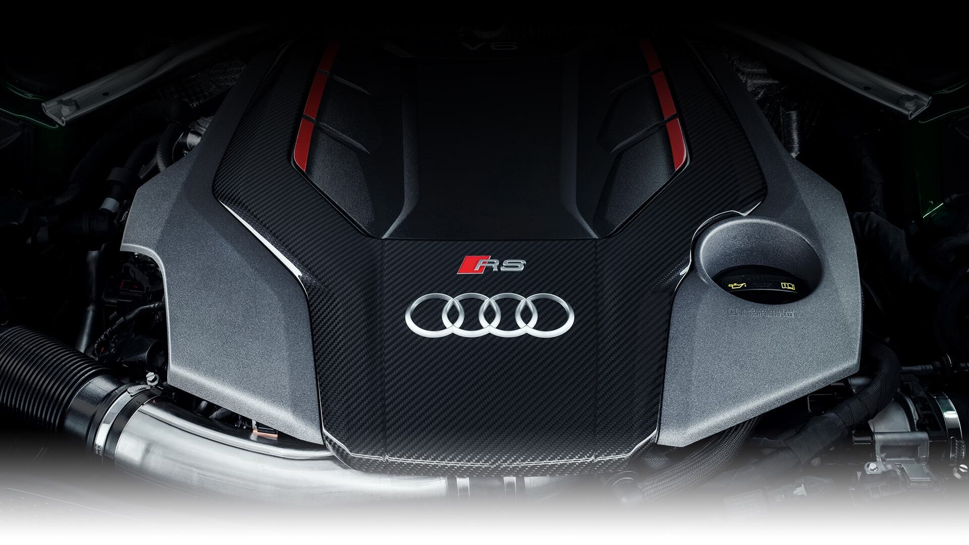 Sideways of the New 2019 Audi RS 5 Sportback, available in Windsor Ontario
