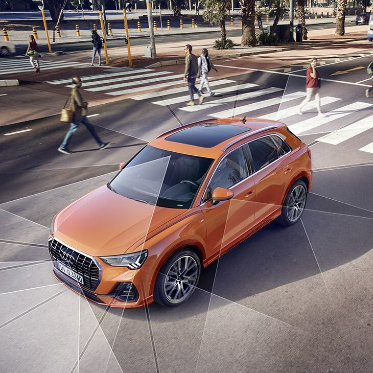 Technology services that are available with the 2019 Audi Q3