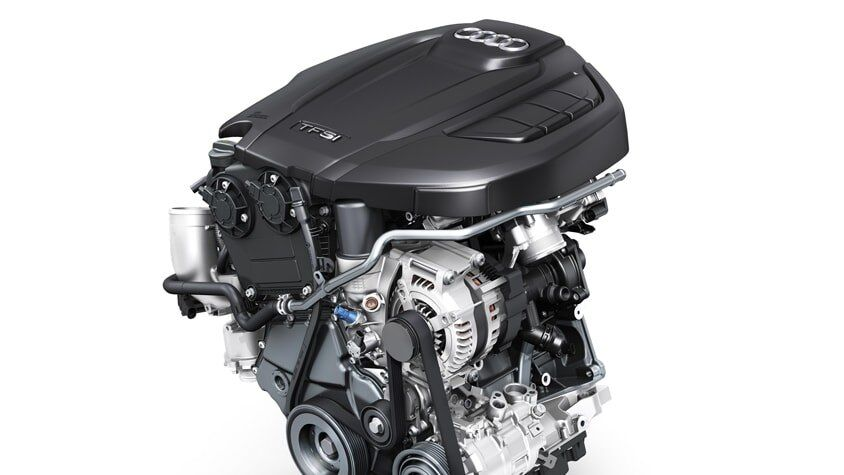The Audi A5 Cabriolet TFSI Engine
