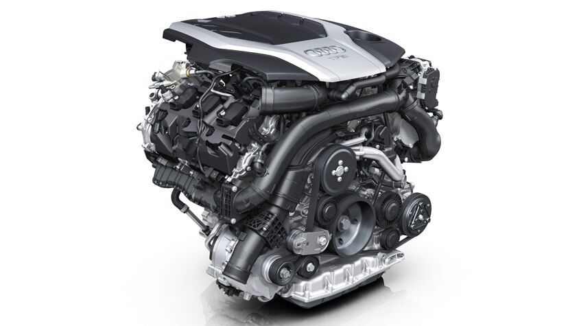 The New 2019 A6 Sedan engine