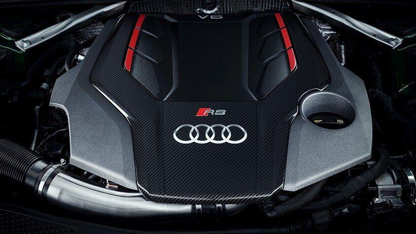 The Audi RS 5 Sportback TFSI Engine