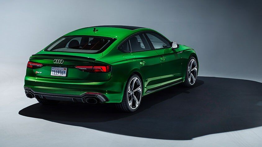 A front view of the New 2019 RS 5 Sportback available in Windsor Ontario