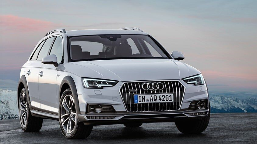 A side view of the New 2019 A4 allroad available in Windsor Ontario