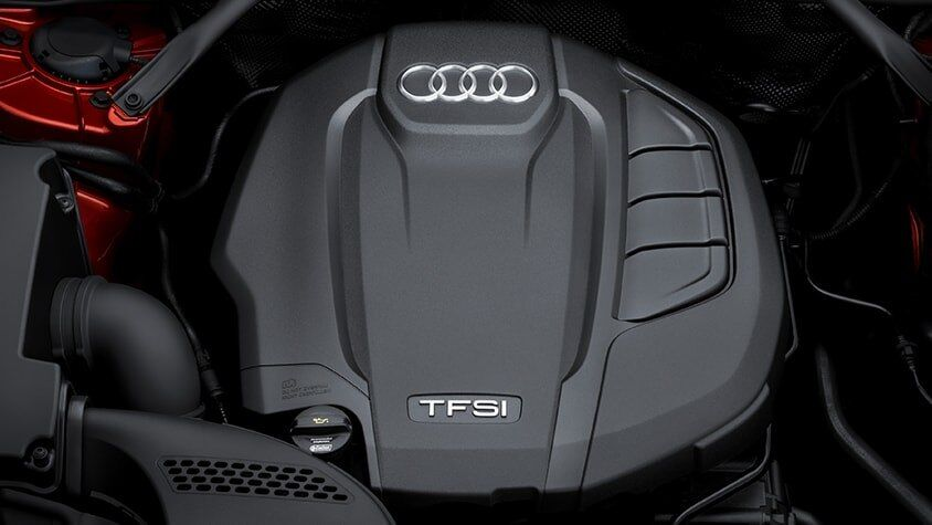 The Audi Q5 TFSI Engine