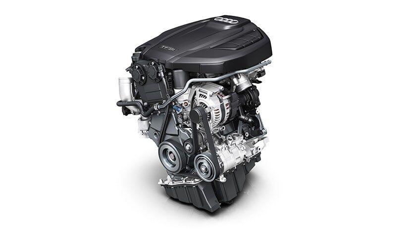 The Audi A4 allroad TFSI Engine