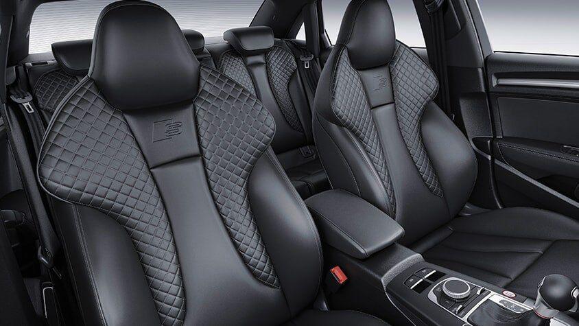 The 2019 Audi S3 Sedan optional interior view