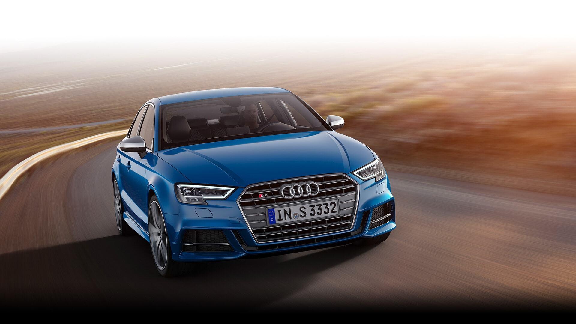 a European model of the New 2019 Audi S3 Sedan