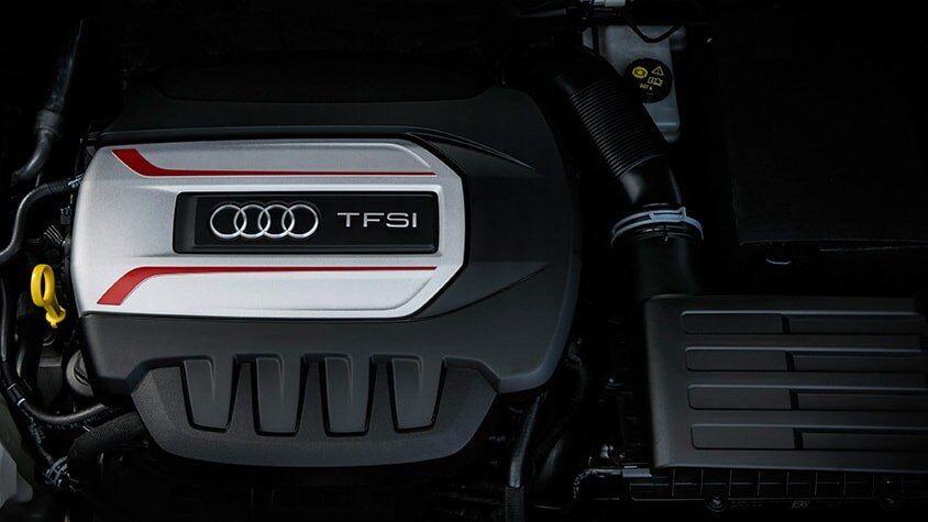 The 2019 Audi R S 3 Sedan's TFSI engine