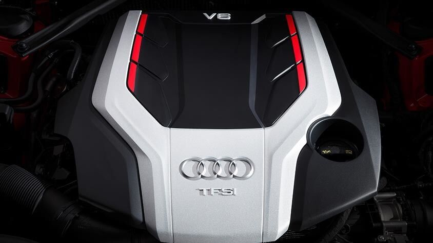 The Audi S5 Coupe TFSI Engine