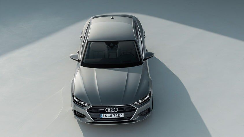 A front view of the New 2019 A7 Sportback available in Windsor Ontario
