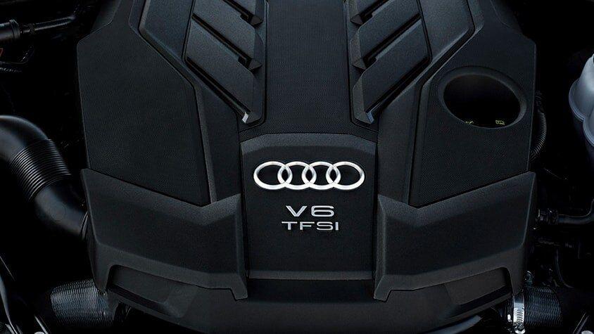 The Audi A8 L TFSI Engine