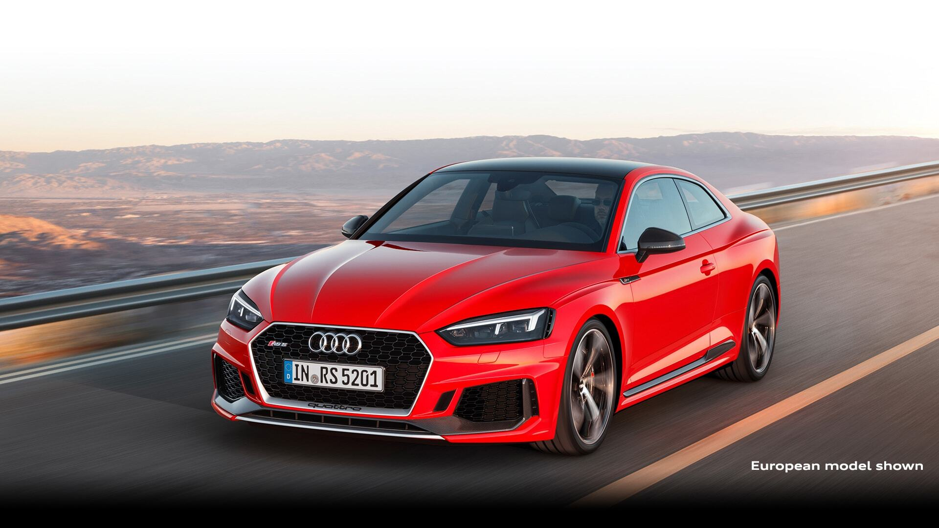 a European model of the New 2019 Audi RS 5 Coupe