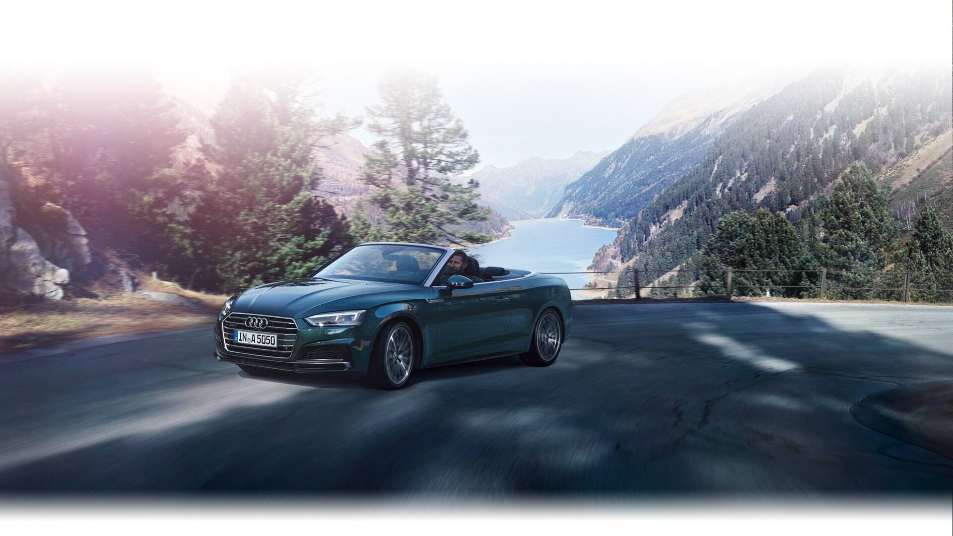 a European model of the New 2019 Audi A5 Cabriolet