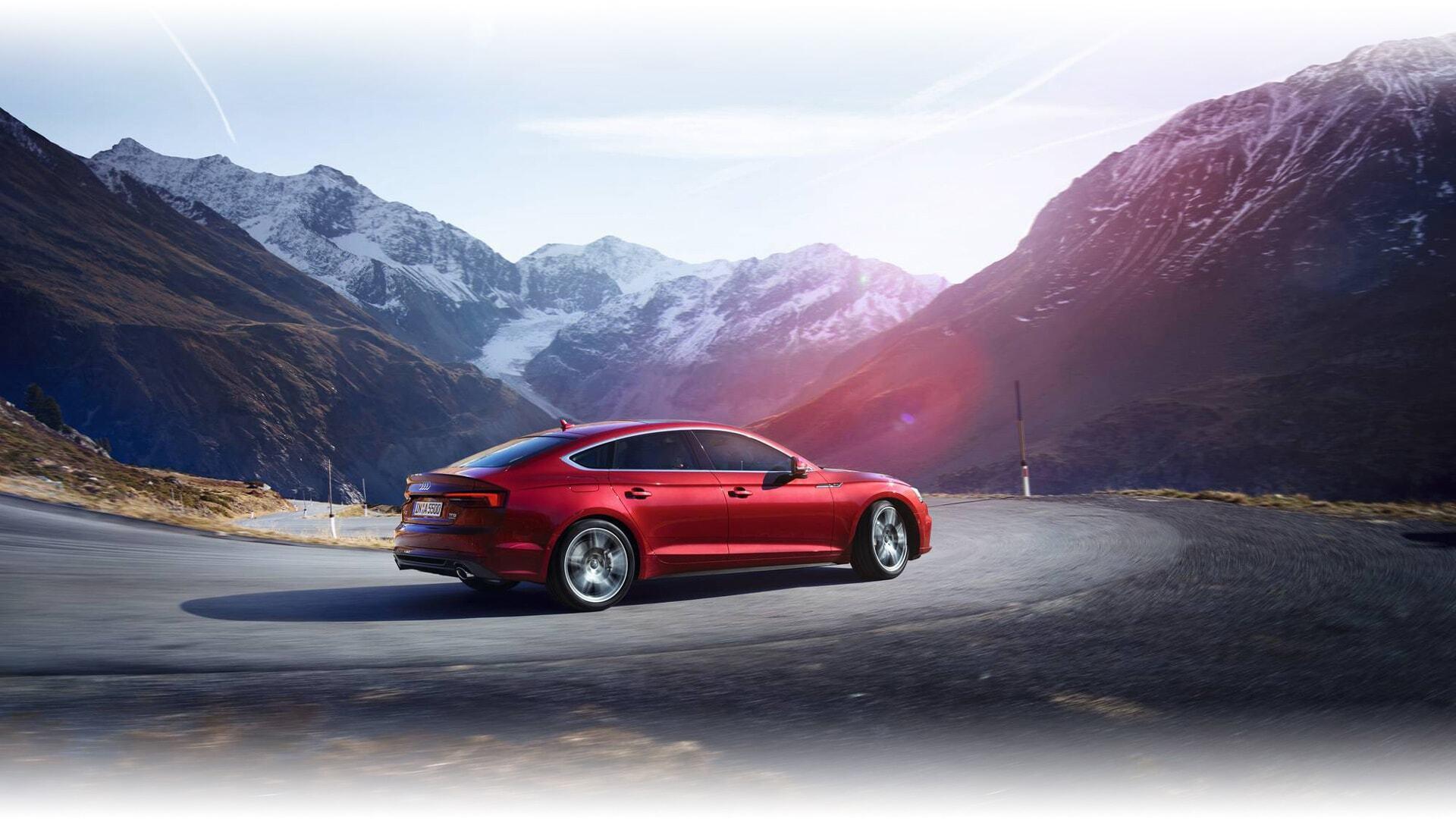 a European model of the New 2019 Audi A5 Sportback