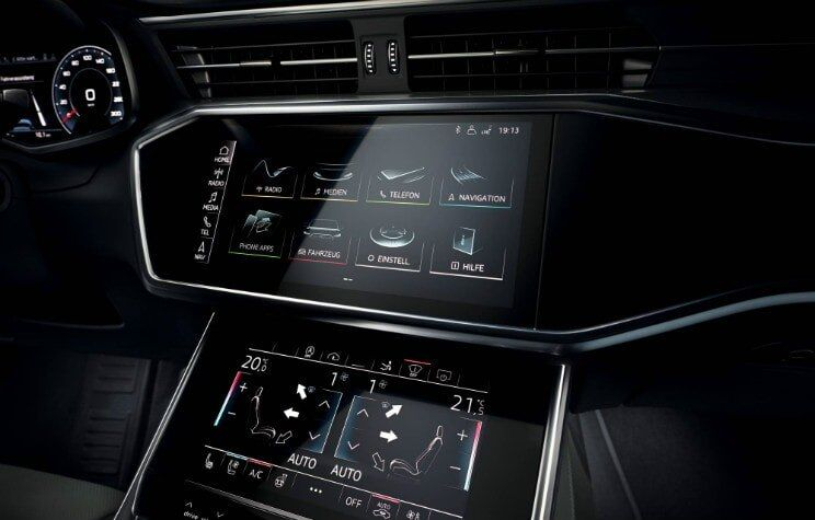 The 2019 Audi A7 Sportback interior view