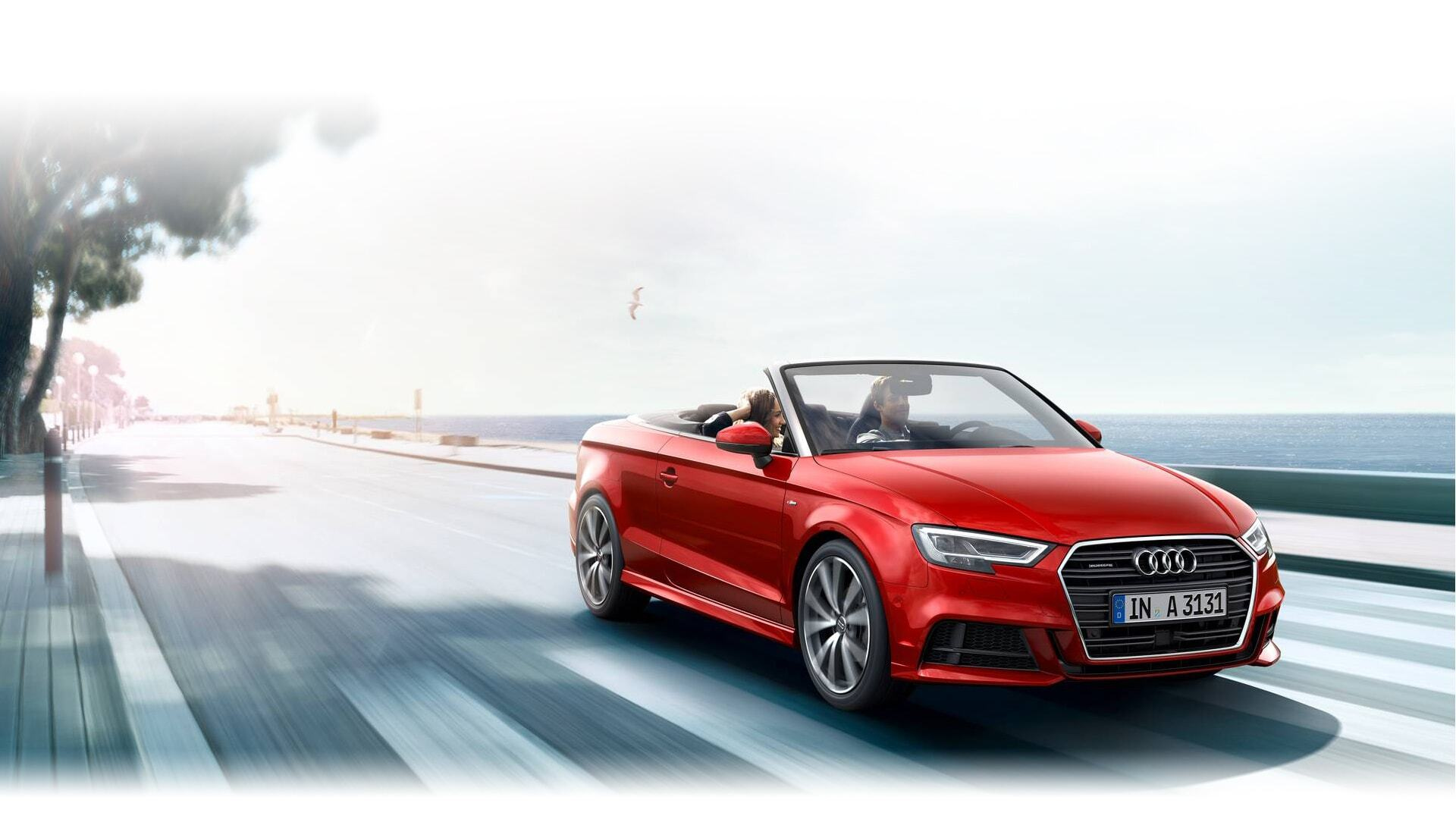 a European model of the new 2019 Audi A3 Cabriolet