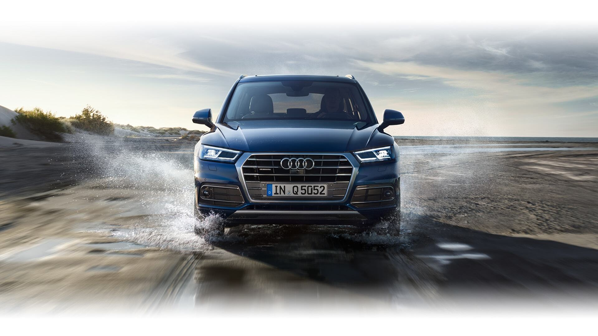 a European model of the New 2019 Audi Q5