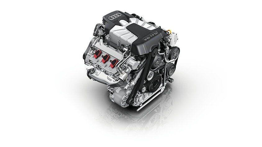 The Audi Q7 TFSI Engine