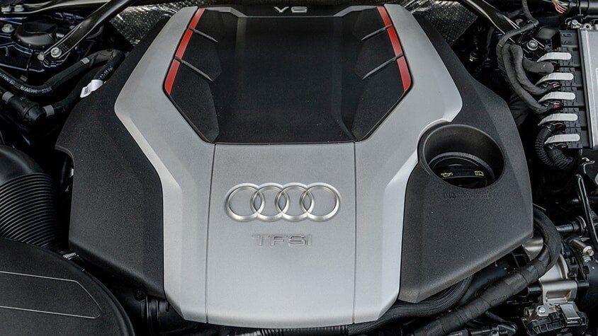 The Audi SQ5 TFSI Engine