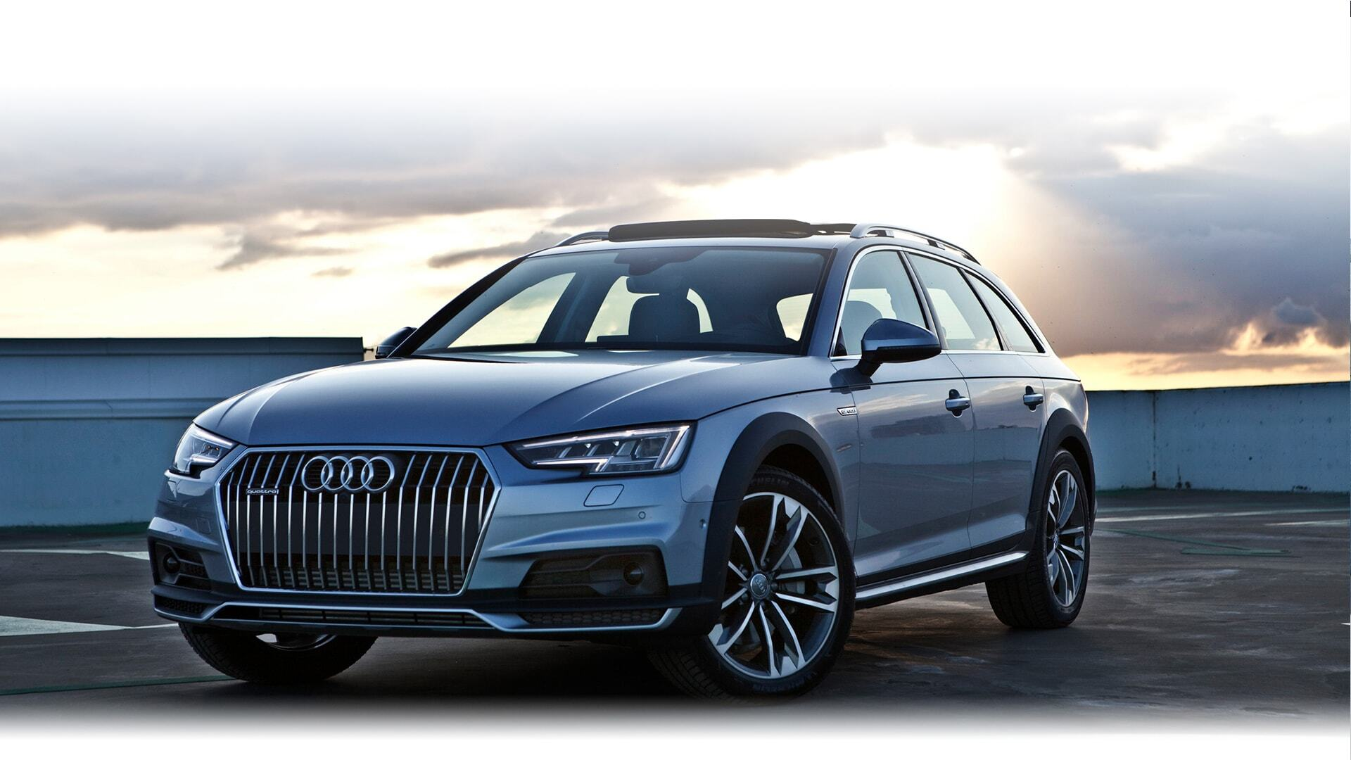 a European model of the New 2019 Audi A4 allroad