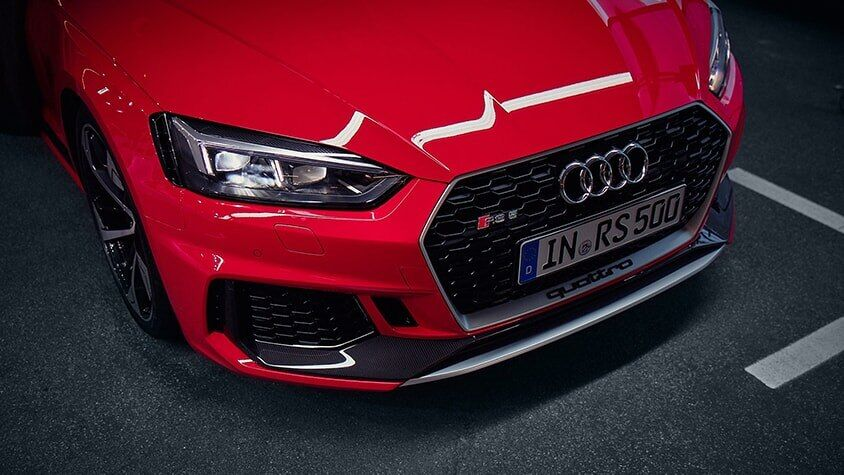 A front view of the New 2019 RS 5 Coupe available in Windsor Ontario
