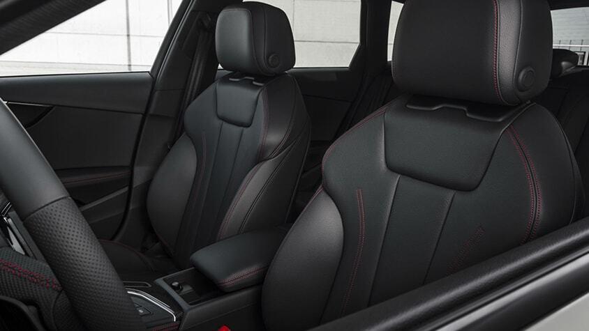 The 2019 Audi A4 Sedan interior view