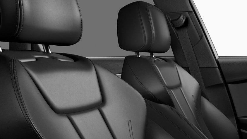 The 2019 Audi A4 allroad interior view