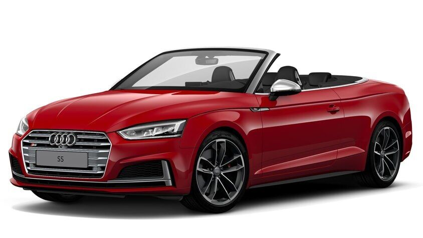 A side view of the New 2019 S5 Cabriolet available in Windsor Ontario