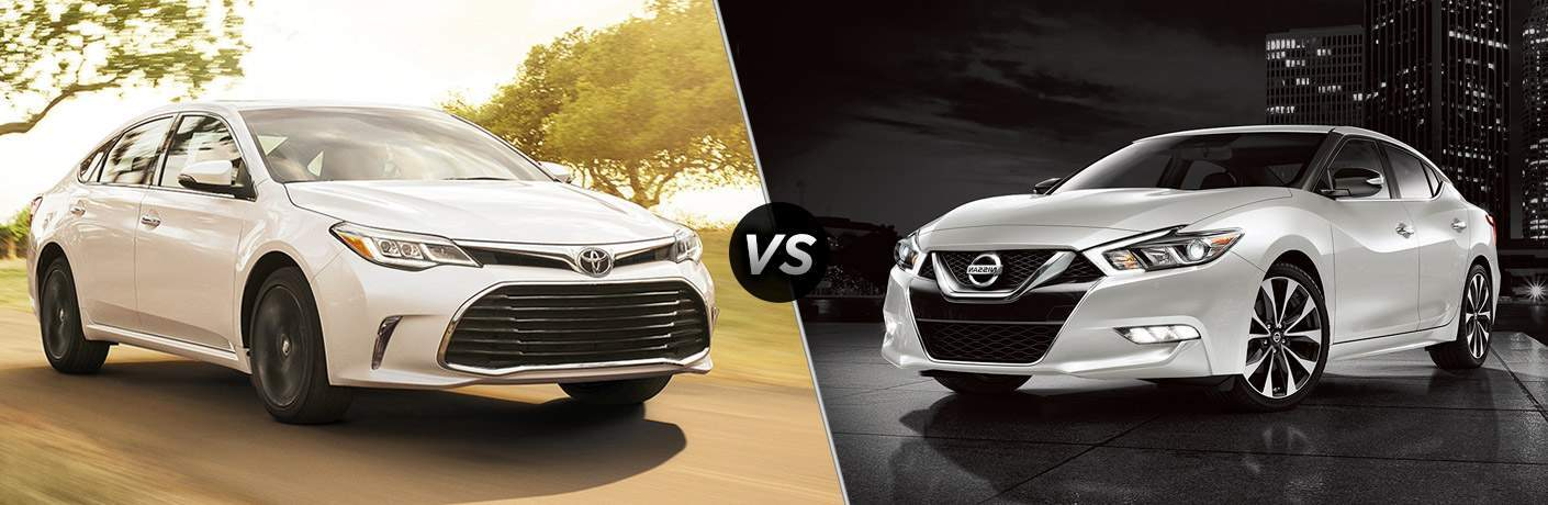Image Result For Toyota Avalon Vs Nissan Maxima 2017