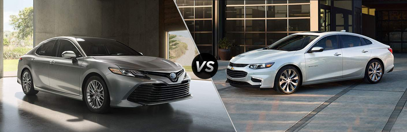 toyota camry compared to chevy malibu