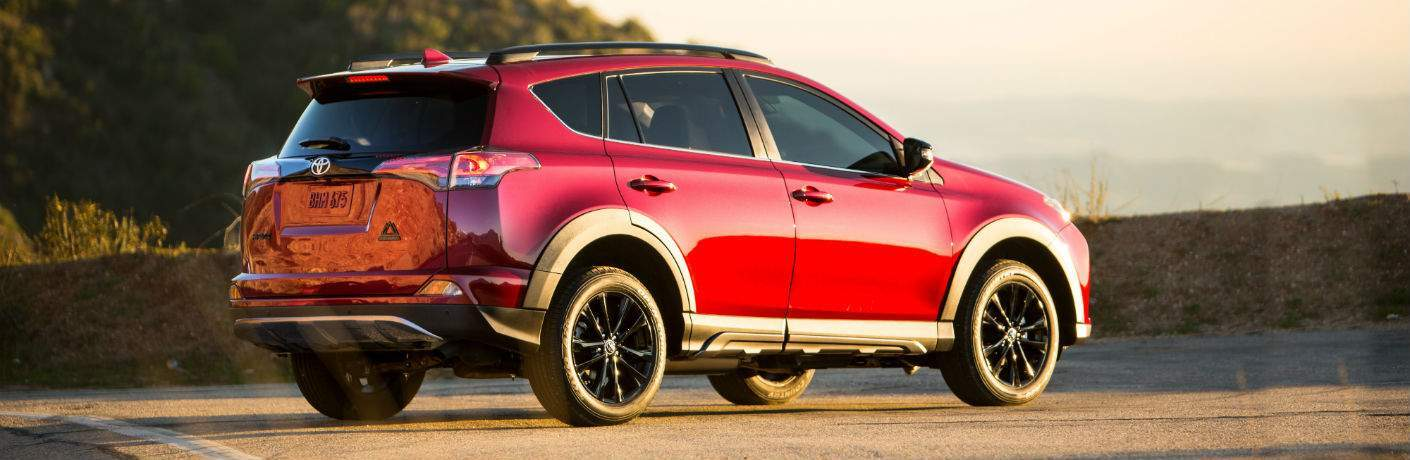 Example of the 2018 Toyota RAV4 with the Adventure package coming to Spitzer Toyota